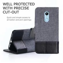 Redmi 5 Redmi 5plus jean leather flip case casing cover