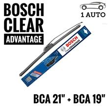 "BOSCH CLEAR ADVANTAGE WIPER for PROTON WAJA, PERSONA , GEN 2 (21""+19"")"