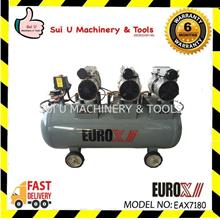 Eurox EAX-7180 Silent Oil-Less Air Compressor 100Liter 2hp