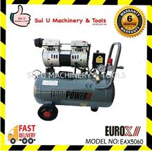 Eurox EAX5060 Oiless & Silent Type Air Compressor 60litre 550w