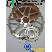 ONEUP COMPONENTS 47T Sprocket +18T [Shimano 1X11]