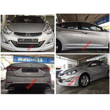 Hyundai Avante / Elantra '15-16 TYPE C Body Kit ABS Material [Painted]