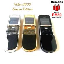 ++ RETRONS ++ NOKIA 8800 SIROCCO CLASSIC REFURBISHED