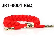 RASTACLAT SLOELACE BRACELET wristband wrist band jewelry bangle RED