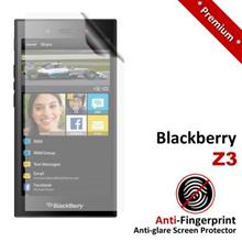 Premium Anti-Fingerprint Matte Blackberry Z3 Screen Protector