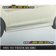 ABS181L Ford Fiesta 2012 ABS Side Skirt Left Hand (OE)
