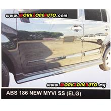 ABS186R Perodua New Myvi ABS Side Skirt Right Hand (Elegance)