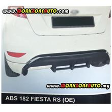 ABS182 Ford Fiesta 2012 ABS Rear Skirt (OE)