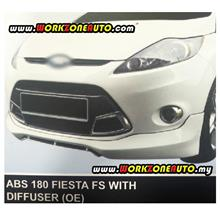 ABS180 Ford Fiesta 2012 ABS Front Skirt With Diffuser (OE)