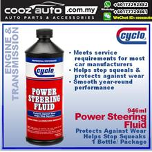 Cyclo Power Steering Fluid, Heavy Duty Formula (1 Bottle)