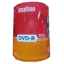 IMATION DVD-R MEDIA DISC 100PCS SPINDLE 4.7GB 16X