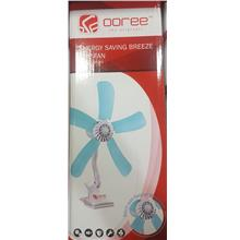 OOREE 600MM 5 FIN ENERGY SAVING BREEZE CLIP FAN (UF165)