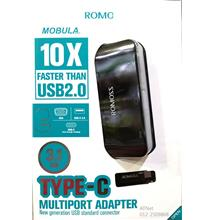 ROMOSS USB3.1 TYPE C TO VGA, USB A 3.0, USB TYPE C MULTIPORT CH05CVA