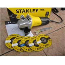 Stanley 580W 4' (100mm) Small Angle Grinder