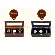 Wooden Car Watch Box, Collection 3 Slot Watches Box, Birthday Present