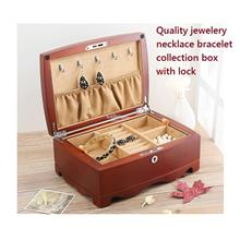 Top Quality Wooden Jewelry Storage Boxes, Jewellery Box with lock