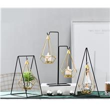 Minimalist Metal Hanging Candle Holder Living Home Decoration