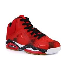 Autumn Large Size Basketball High-Top Anti-Slip Sneakers (RED)