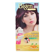 BIGEN One Push Hair Color 526 Burgundy Brown 1s