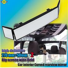 Vehicle-mounted large-field view Curved rear-view mirror SD-2411