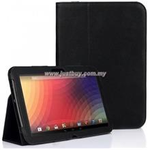 Google Nexus 10 Leather Case - Black