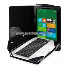 Asus VivoTab TF810c Full Body Keyboard Cover Leather Case