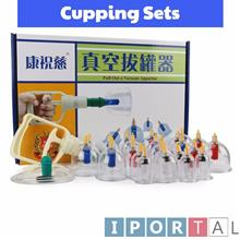 24 Cups KangZhu Vacuum Body Cupping Set Massage Therapy Body Suction