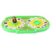 CHILDREN CARTOON MONKEY TABLE MATCH GAME EDUCATIONAL TOY (COLORMIX)
