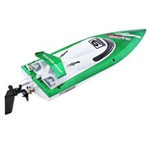 FEI LUN FT009 2.4G RC RACING BOAT HIGH SPEED YACHT (GREEN)