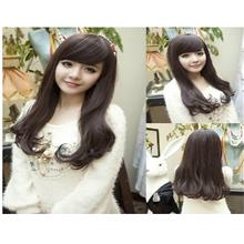 Wig jk10/ slightly curve/ ready stock/rambut palsu