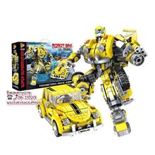 Brick Compatible 621019 Transformer Bumble Bee Movie Series