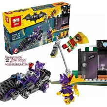 Brick Compatible 07058 The Catwoman Catcycle Chase