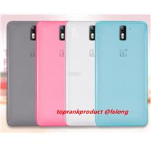 OnePlus One Plus One 1+1 Soft Matte TPU Back Case Cover Casing