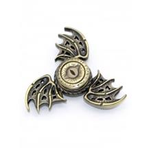 FOCUS TOY DRAGON WINGS FINGER GYRO SPINNER BIRTHDAY GIFT (GOLDEN)