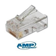 Cat5e Tyco AMP Networking RJ45 Crystal Modular Connector x10pcs
