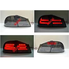 Honda Civic FD '06 LED Light Bar Tail Lamp [Smoke] [BMW F10 Style]