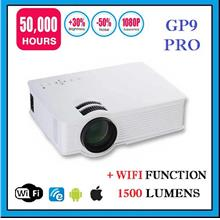 [ 1 Year Warranty ] OHHS GP9 PRO Ezcast Wireless Connect LED Projector