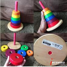 **incendeo** - IKEA Wooden Stacking Rings Toy for Toddlers