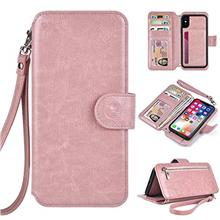 [From USA]Humble Wallet Case Clutch Compatible with iPhone X Xs 10 - Rose Gold