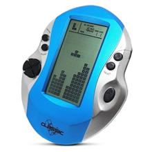 4.1 inch Handheld Game Console Battery Powered for Children (DEEP SKY BLUE)