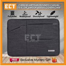 "Canvas Artisan Business Casual 13.3"" Laptop Sleeve Cover Case"
