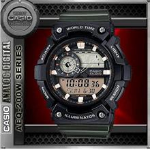CASIO AEQ-200W-3A WORLD TIME WATCH☑ORIGINAL☑