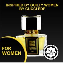 4d032a8ef92 INSPIRED BY GUILTY WOMEN BY GUCCI 30ML EDP FOR WOMEN JAKIM CERTIFIED HALAL  PER