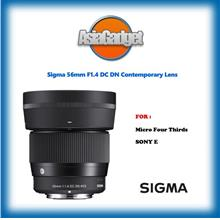 Sigma 56mm F1.4 DC DN Contemporary Lens FREE Sandisk 32Gb Ultra
