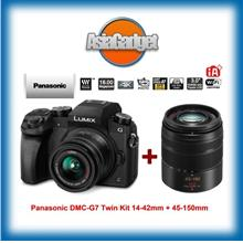 Panasonic DMC-G7 Twin Kit 14-42mm + 45-150mm FREE SanDisk 32Gb