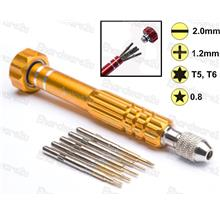 5-IN-1 PENTALOBE SCREWDRIVER SET FOR IPHONE / ANDROID PHONE (FY042)