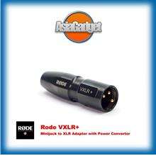 Rode VXLR+ Minijack to XLR Adaptor with Power Convertor