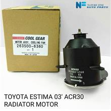 100% Genuine Denso Cool Gear Fan Motor for Toyota Estima 03' ACR30
