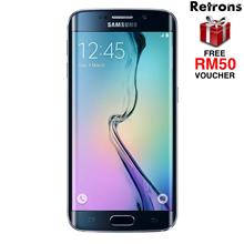 ++ RETRONS ++ SAMSUNG S6 EDGE G925 32GB REFURBISHED FREE RM50 VOUCHER