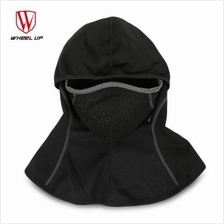 WHEEL UP Cycling Dust-proof Windproof Warm Full Face Scarf Mask (BLACK)